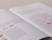 Type mag layout