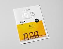 Letter Brochure / Catalog / Booklet Mock-up