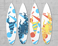 Disrupt Industries | 3D Printed Surfboards