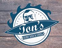 Ton's Surf logo