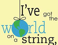 I've got the world on a string