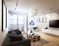 CGI interiors for clients