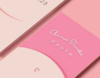 Doula business card
