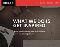 Mirage - Portfolio for Freelancers & Agencies