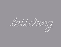 Lettering and logo projects