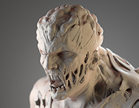 3d Character - Zombie Hunter