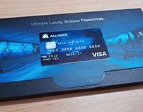 Alliance Bank: VISA Infinite Merchant Inserts