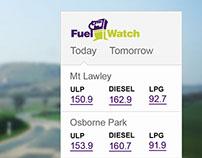 Fuel Watch Widget