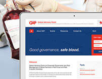 Australian Red Cross Blood Services - GAP Website