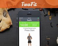 TwoFit iPhone app