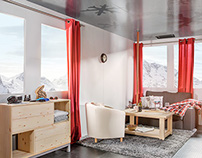 Airbnb Cable Car Vacation Suite