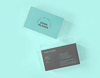 SONIC ISLANDS Branding