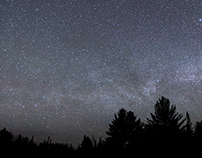 Northern Michigan Night Sky