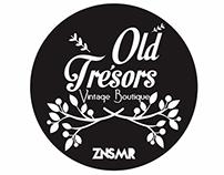 OLD TRESORS VINTAGE BOUTIQUE BRANDING