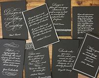 Calligraphy: Designer's Quotes