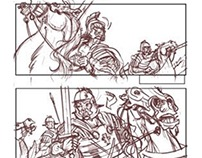 The Fourth Magi - Storyboard