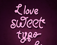 Candy typography lesson