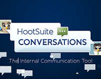 Hootsuite Conversations, Feature Video Animation