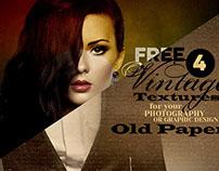 6 Free Vintage Textures