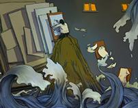 comic -- THE SEA