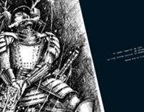 """Editorial Illustration_Egoista """"traço"""""""