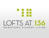 The Lofts at 136 Logo Design Process