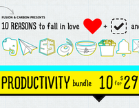 10 Reasons to Fall in Love (Productivity Bundle)