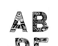 Dooooodle typeface