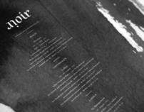 Noir - AW11 Invitation