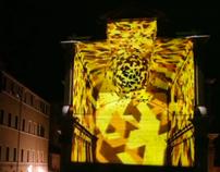 Architectural Mapping per festa Palio di Siena