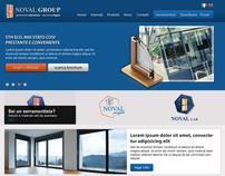 Noval System - web design