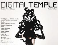 DIGITAL TEMPLE Magazine #6 Issue : SUSPENSION