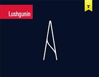 Font Lushgunin