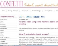 """Confetti.ie: """"Tip of the week"""""""