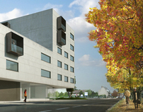 Student housing for EGUS Architects