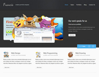 Francis - HTML5 CSS3 Template