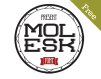 MOLESK font (free)