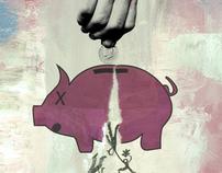 Poverty : Homelessness : Violence : Hope — Poster Art