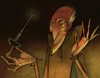 In Search of Mephistopheles - Storyboard