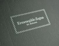 Zegna MTM AW08 Invitation