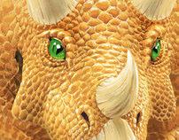 Dinosaur Cover Illustrations