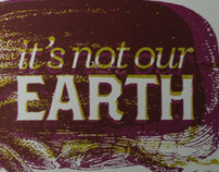 it's not our earth.