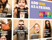 add vh1 as a friend upfront advertising campaign