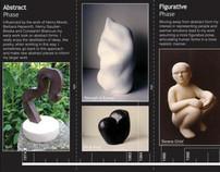 Exhibition Invite / Catalogue : Angelika Seik