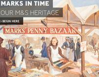M&S - 125 Years Website