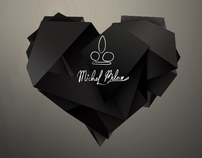 Michel Belove. Name, logo & microsite.
