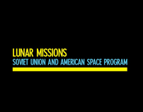 Lunar Missions - Info Graphic