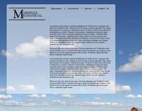 Marshall Mechanical Website concept