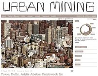 Urban Mining - digital branding