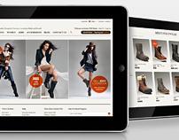 Jumbo UGG. Website Design